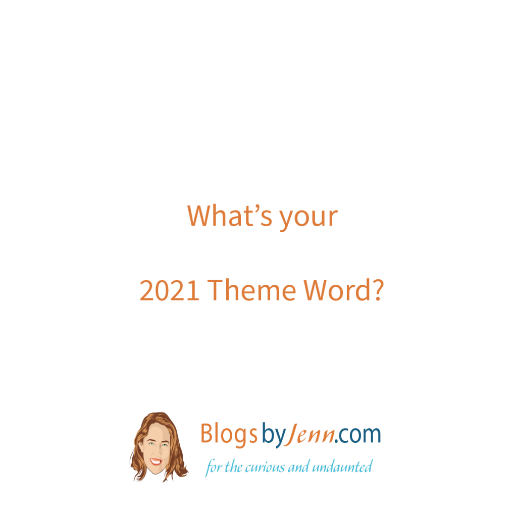 Day 1: What is your 2021 Theme Word