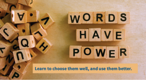 Content to Share: Words have Power