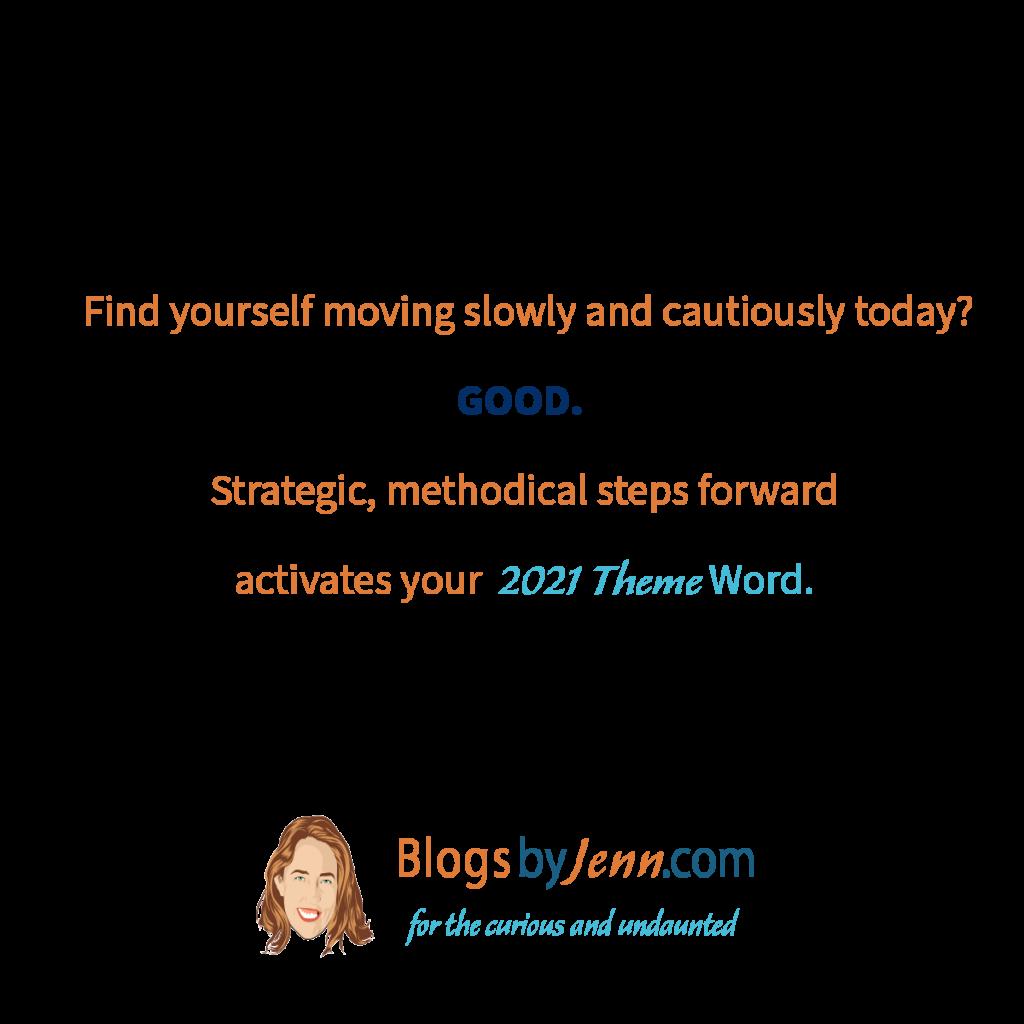 Reset Day4 Take Slow steady steps forward