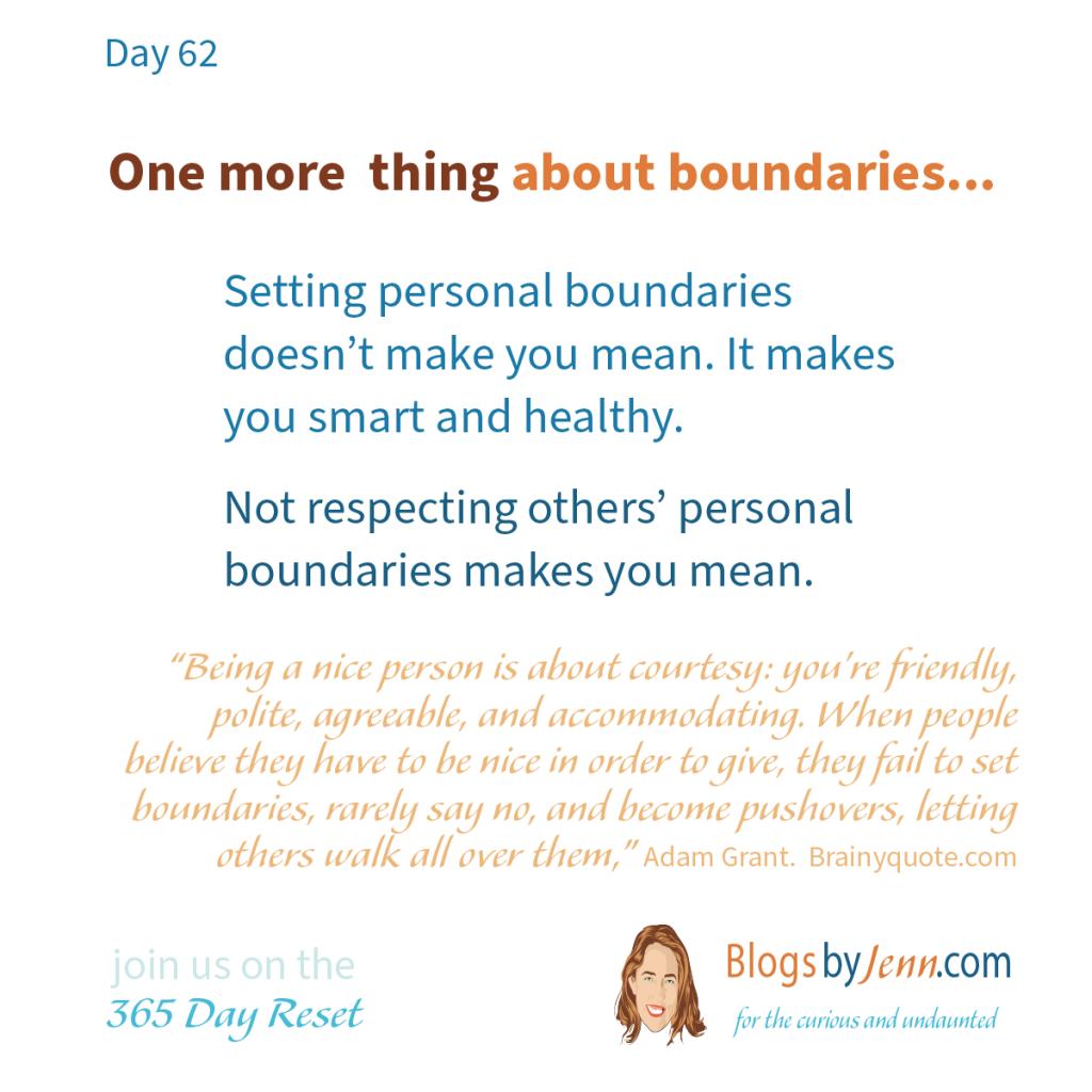 Boundary Setting Card